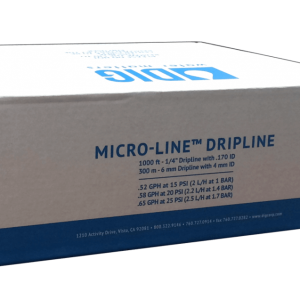 Dây tưới nhỏ giọt DIG Micro dripline 6mm cuộn 300m
