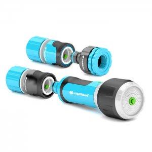 """Trọn bộ vòi tưới xoay nhiều chế độ chất lượng cao Cellfast Ergo 1/2"""" (21mm)"""