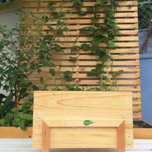 Chậu gỗ trồng cây-chậu gỗ trồng hoa cao cấp bao chân ngoài size nhỏ GG503040