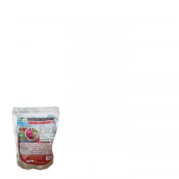Phân Trùn Quế Dạng Viên Vermicompost, Bón Hoa Lan, Cây Trồng Trong Chậu-Túi 1kg