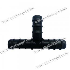 Tê nối ống nhỏ giọt, ống dẫn nước PE 16mm
