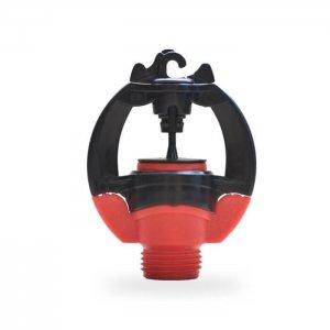 Béc tưới phun mưa cục bộ Rivulis S2000 (Israel). Màu sắc: đỏ. Lưu lượng: 97 l/h.