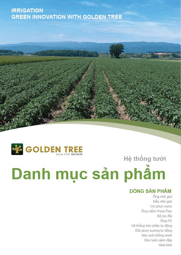 Tưới nhỏ giọt Golden tree