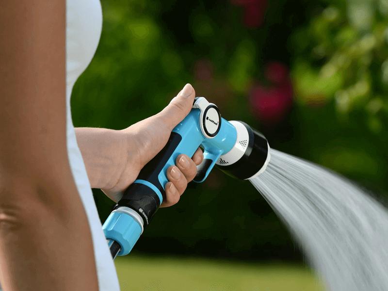 Vòi tưới đa năng cao cấp 4 chế độ phun Cellfast Ergo 53-330